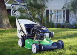 Gas powered mower