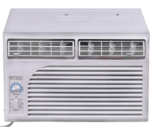 COSTWAY 5, 000 BTU 115V Air Conditioner Window-Mounted Mini-Compact